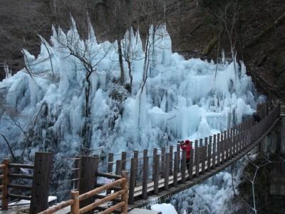 尾ノ内百景(冷っけぇ~)の氷柱
