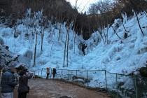 氷(兵)ノ沢 あしがくぼの氷柱